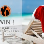 Yacht Crew competition to wins a prize for each of the 12 days of Christmas