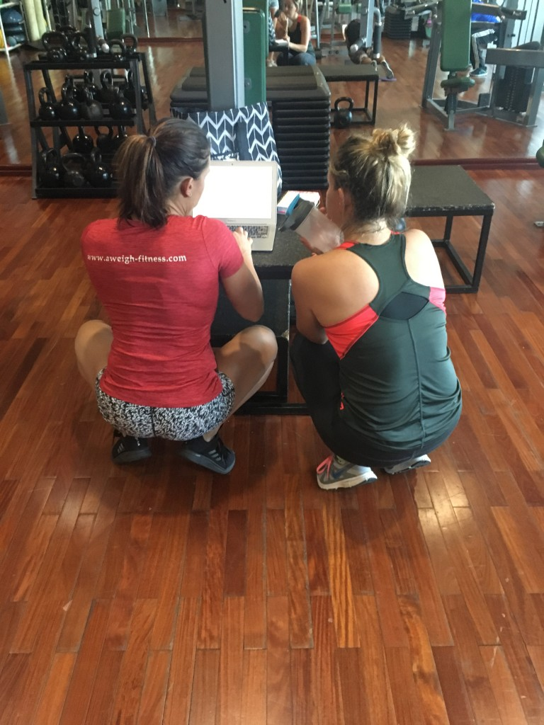 AWEIGH FITNESS session won on the YACHTNEEDS app superyacht crew giveaway