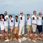 YACHTNEEDS superyacht crew line up with phones