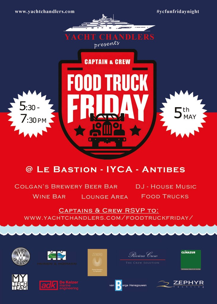 Food Truck Friday Crew event in Antibes