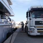 Bunkering superyacht fuel in Tunisia