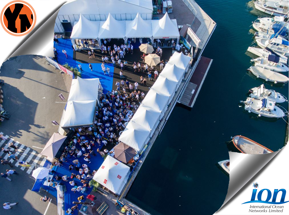 MYS 2017 YACHTNEEDS stand aerial view