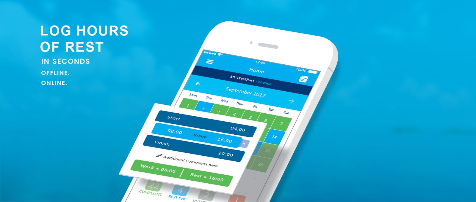 The app that's solving the hours of rest problem