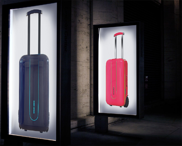 Travelmate Robotics Suitcase