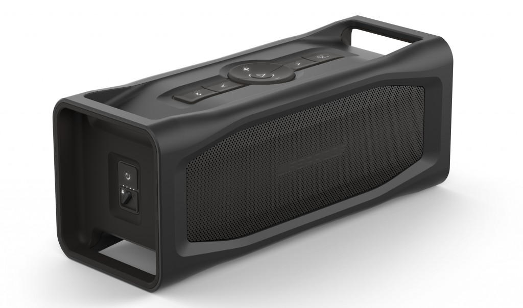 Aquaphonics speaker in black