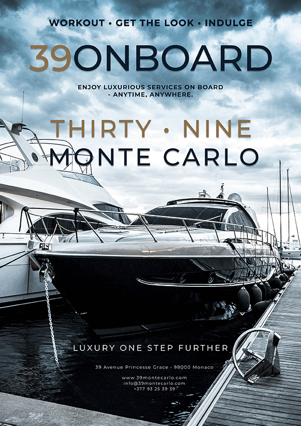 39 MonteCarlo offers services on superyachts