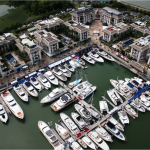 view of Royal Phuket Marina in Thailand