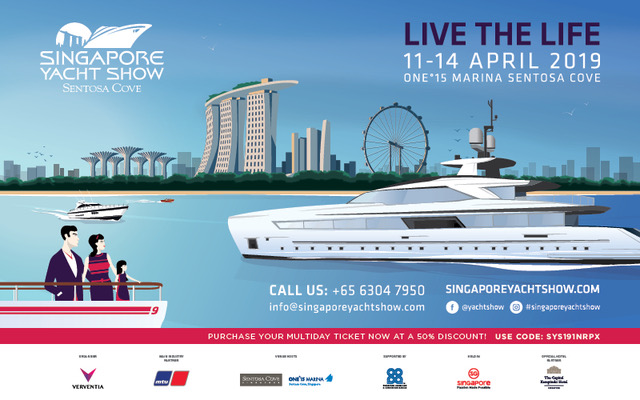 Set Sail for the Singapore Yacht Show 2019