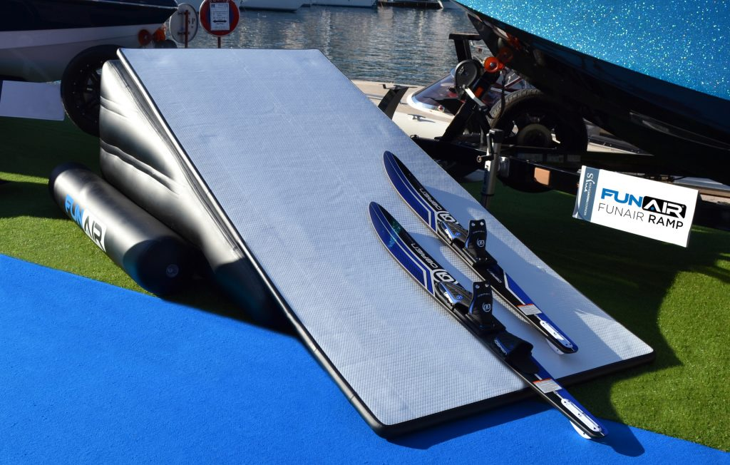 FunAir Ski and Wakeboard Ramp at Monaco Yacht Show 2018