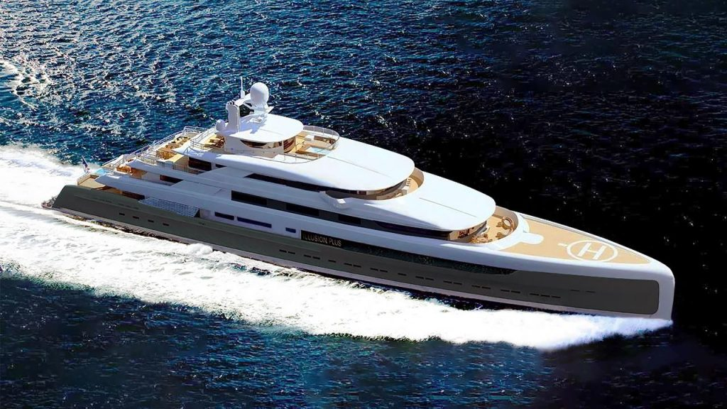 MY Illusion Plus Superyacht