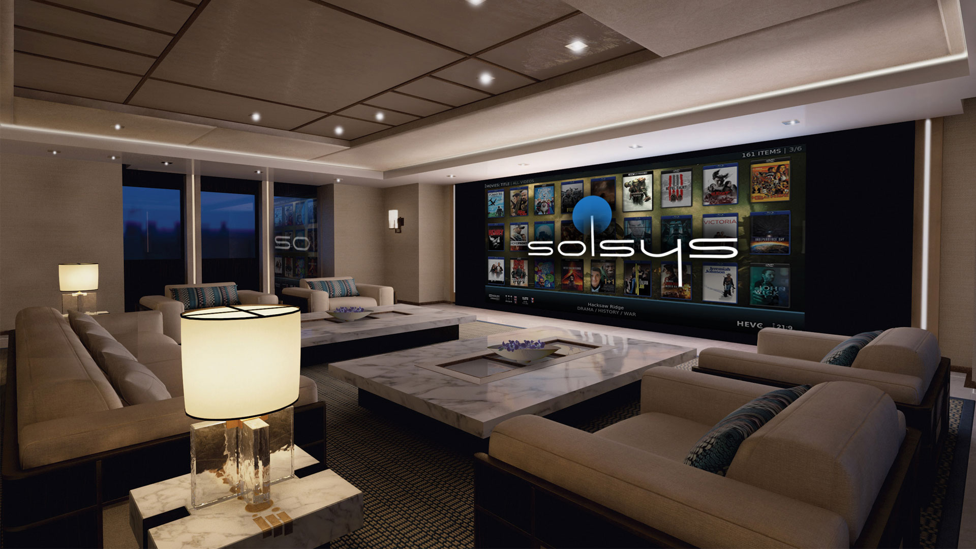 Techno Systems provide expert superyacht A/V and security