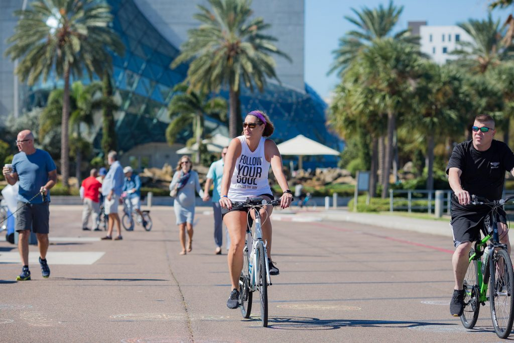 port st pete bike ride