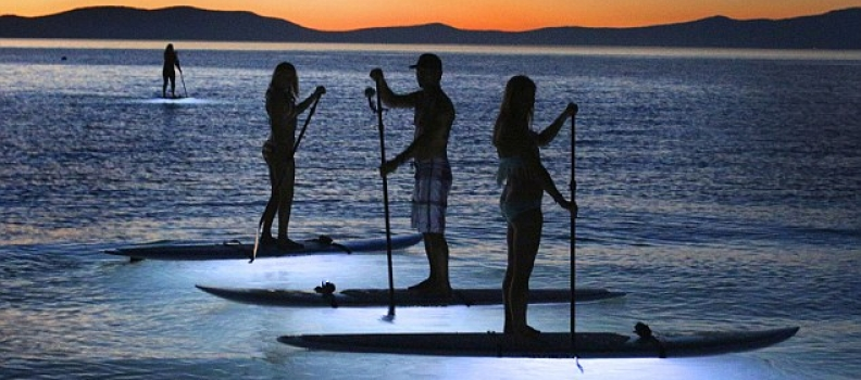 COOL FOR CREW – light up your SUP