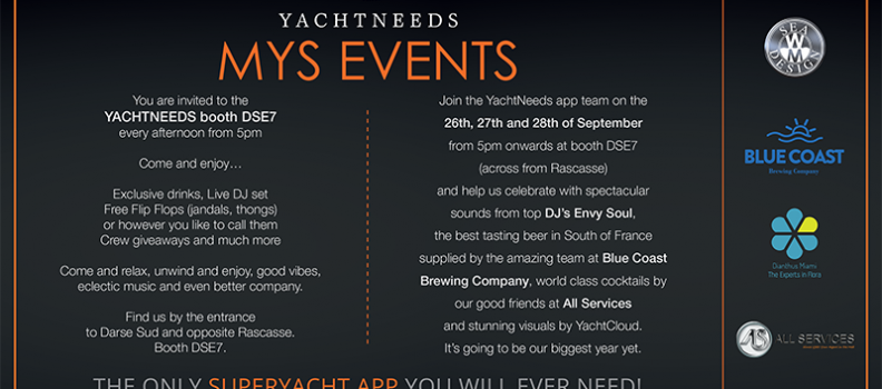 Why Meet YACHTNEEDS at MYS 2018
