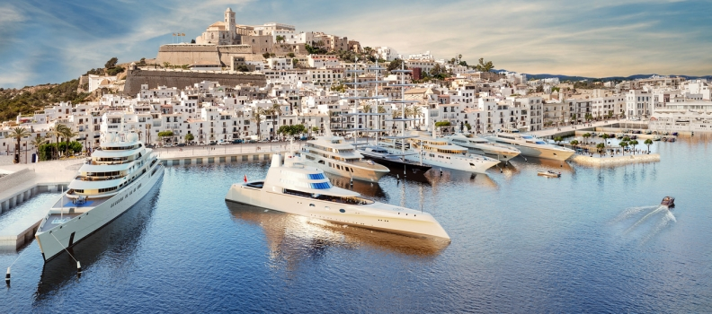 New Superyacht Marina in Ibiza