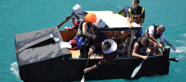 Antibes Raft Race at Port Vauban