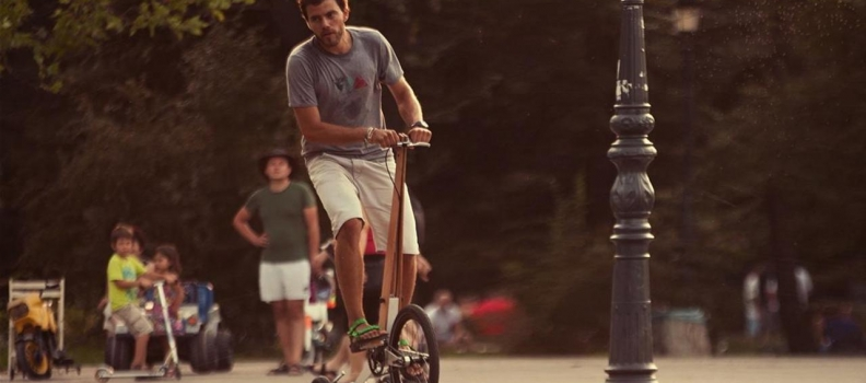 Halfbike: The Jog/Cycle hybrid that's perfect for yacht crew